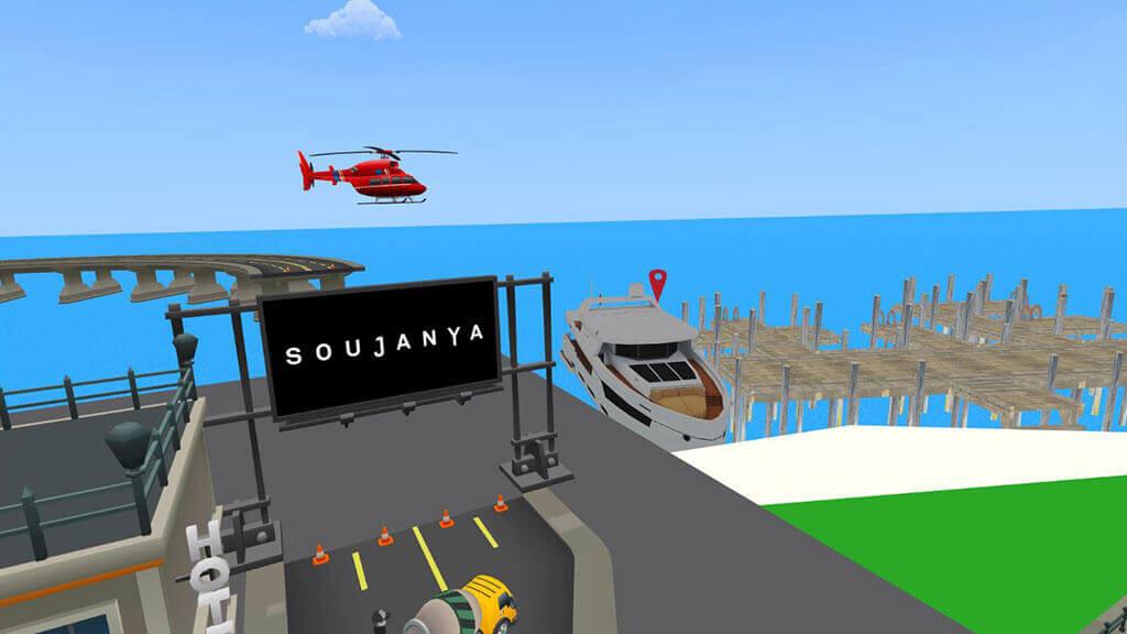 Soujanya VR City - The Oculus Go Based Virtual Reality Game